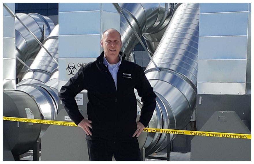 Reno parking garage becomes pandemic care space