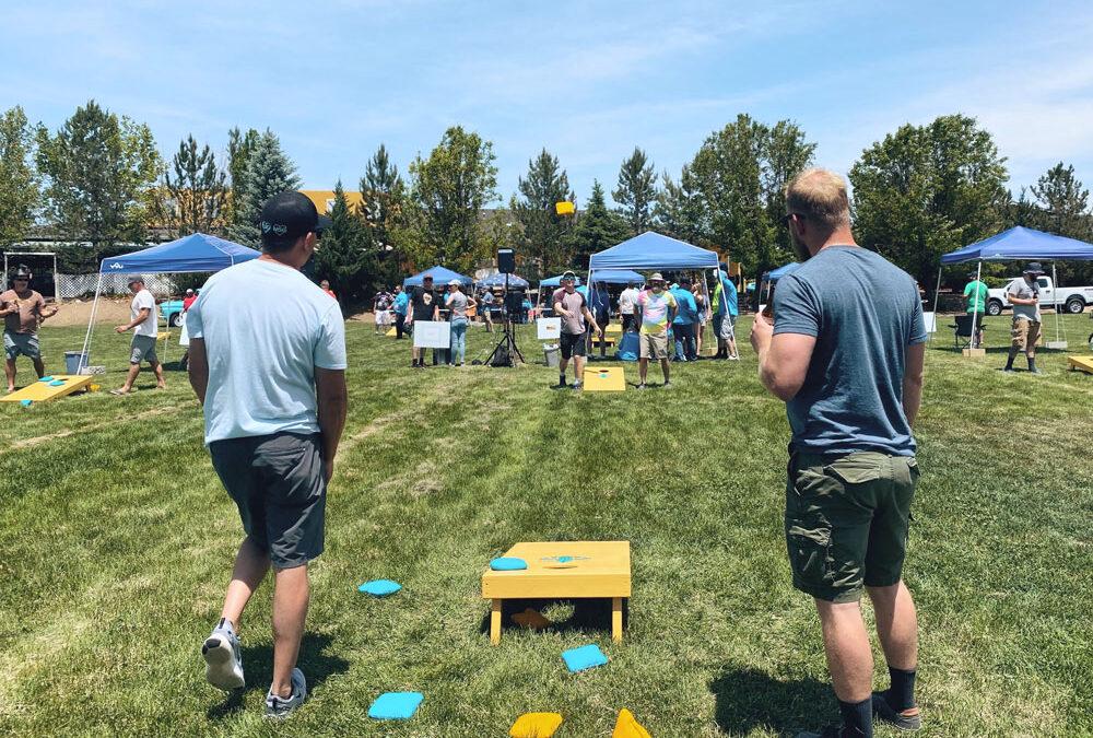Annual Teal Fleur-De-Lis Corn Hole Tournament