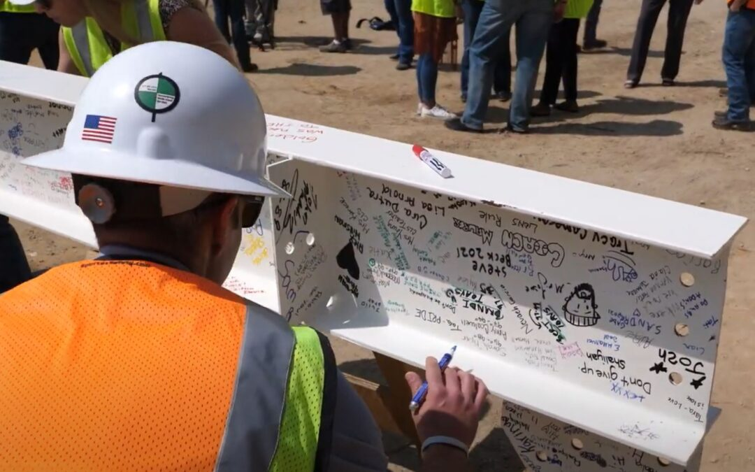 O'Brien Middle School Topping Out Ceremony